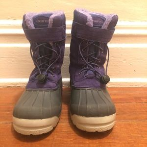 Lands' End Youth / Girls Sz 3 Snow Boots